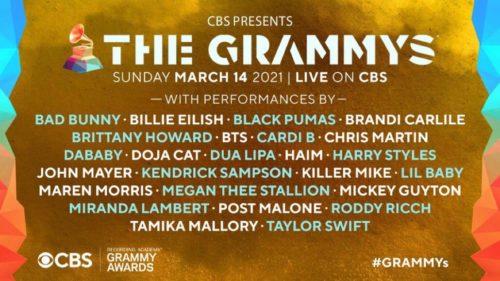GRAMMY performer list