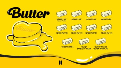 butter promotion schedule